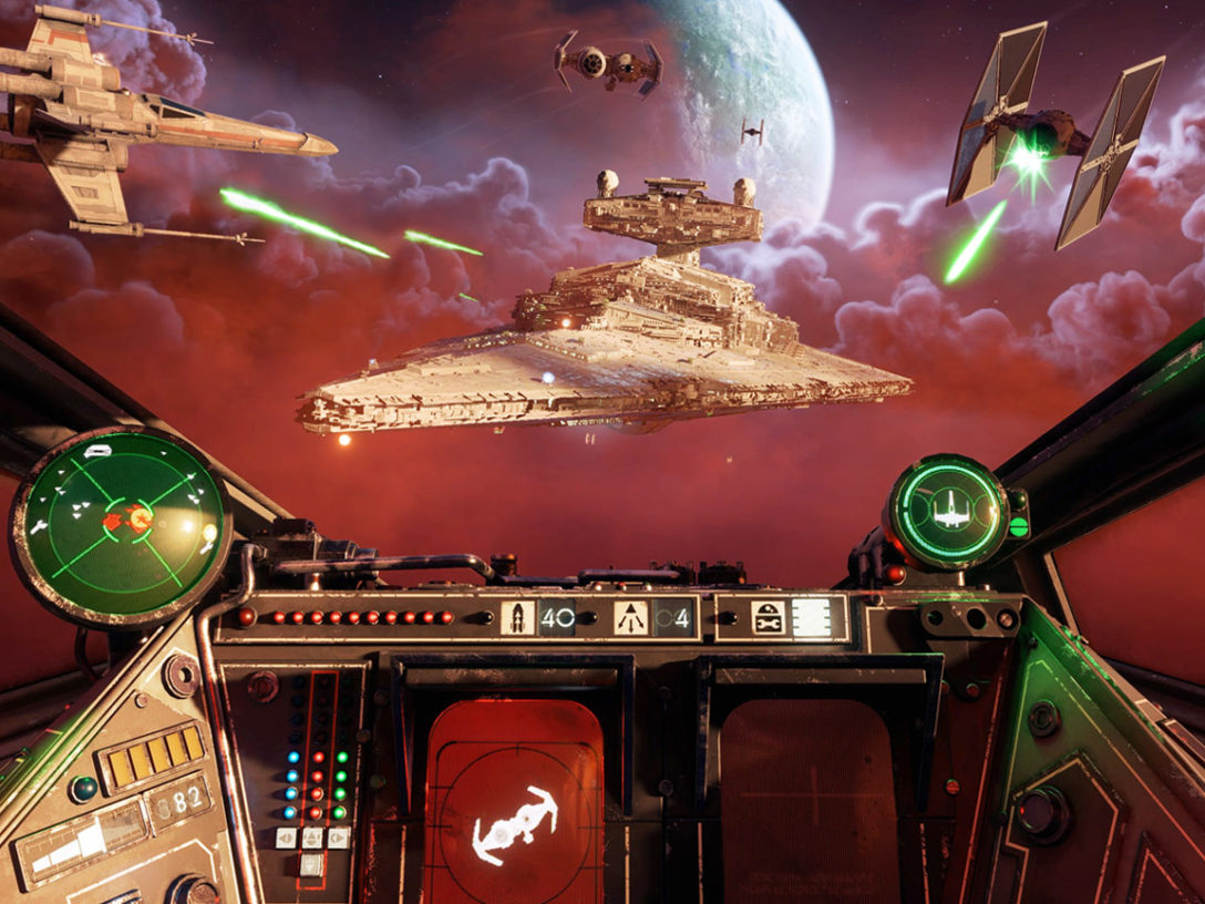Star Wars: Squadrons gameplay