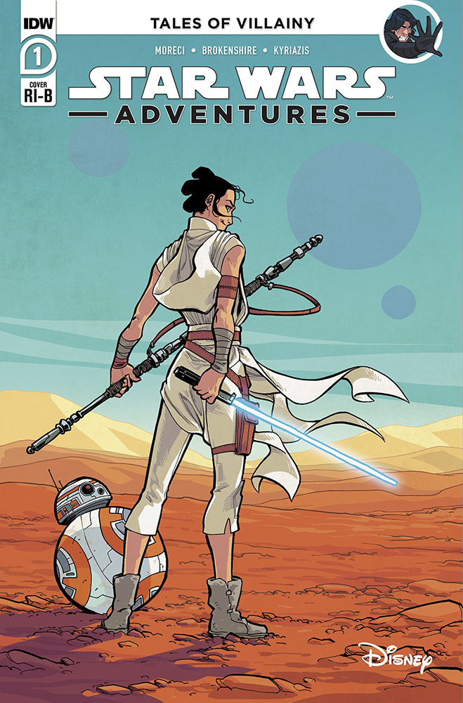 Star Wars Adventures cover