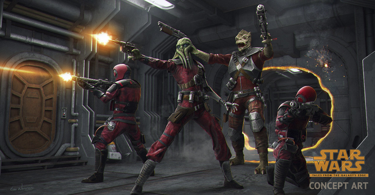 Star Wars: Tales from the Galaxy's Edge: Guavian Death Gang operatives