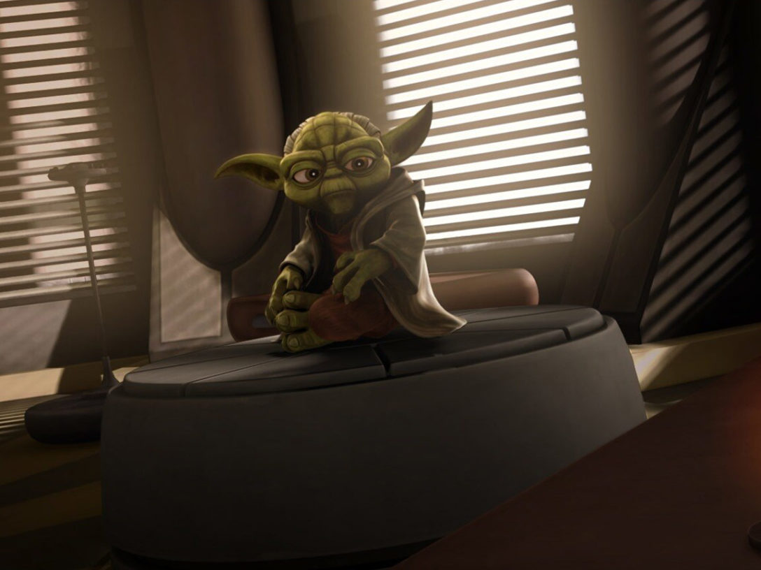 Yoda in Star Wars: The Clone Wars