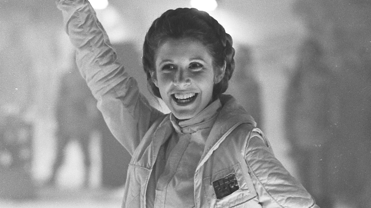 Leia Behind the Scenes of The Empire Strikes Back