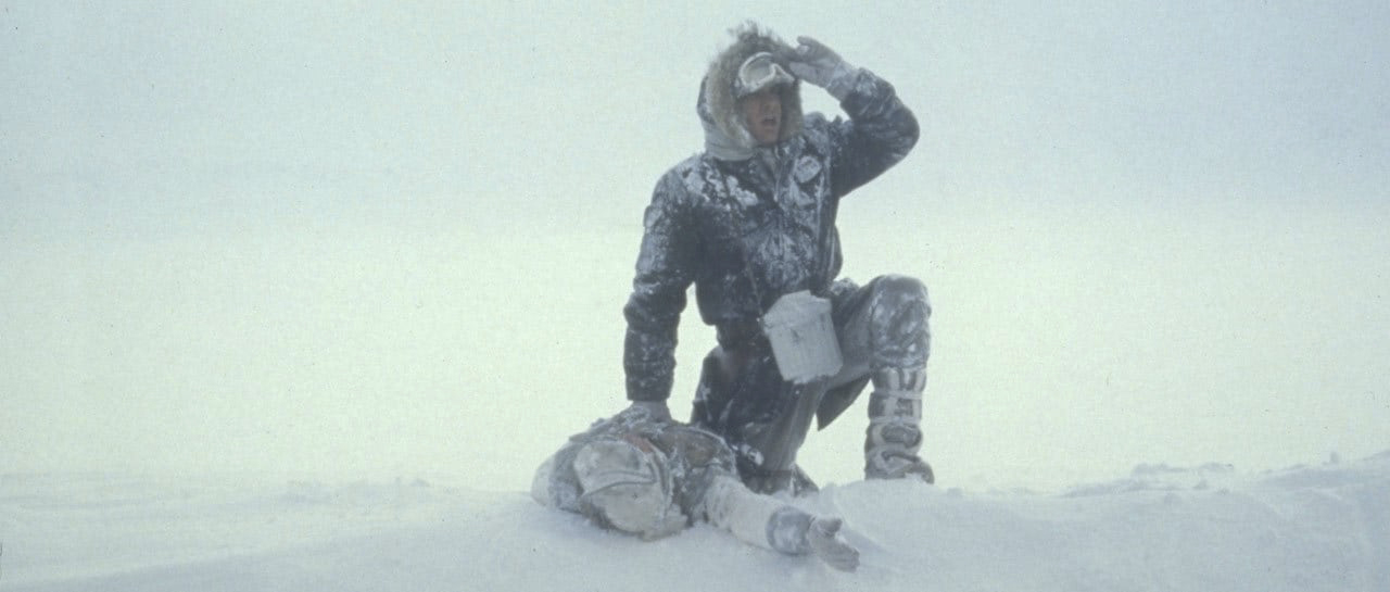 Han Solo on Hoth