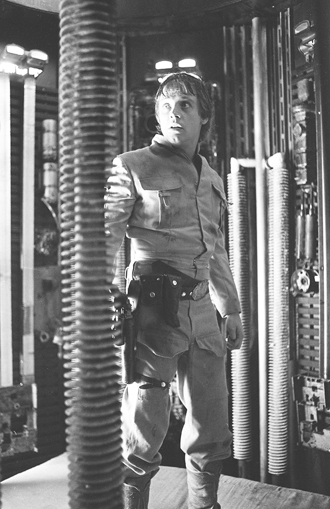 Behind the scenes of Luke on Bespin