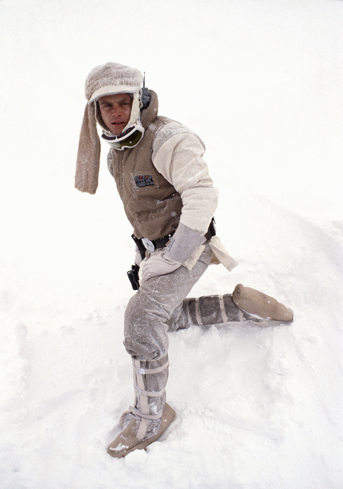 Behind the scenes of Luke on Hoth