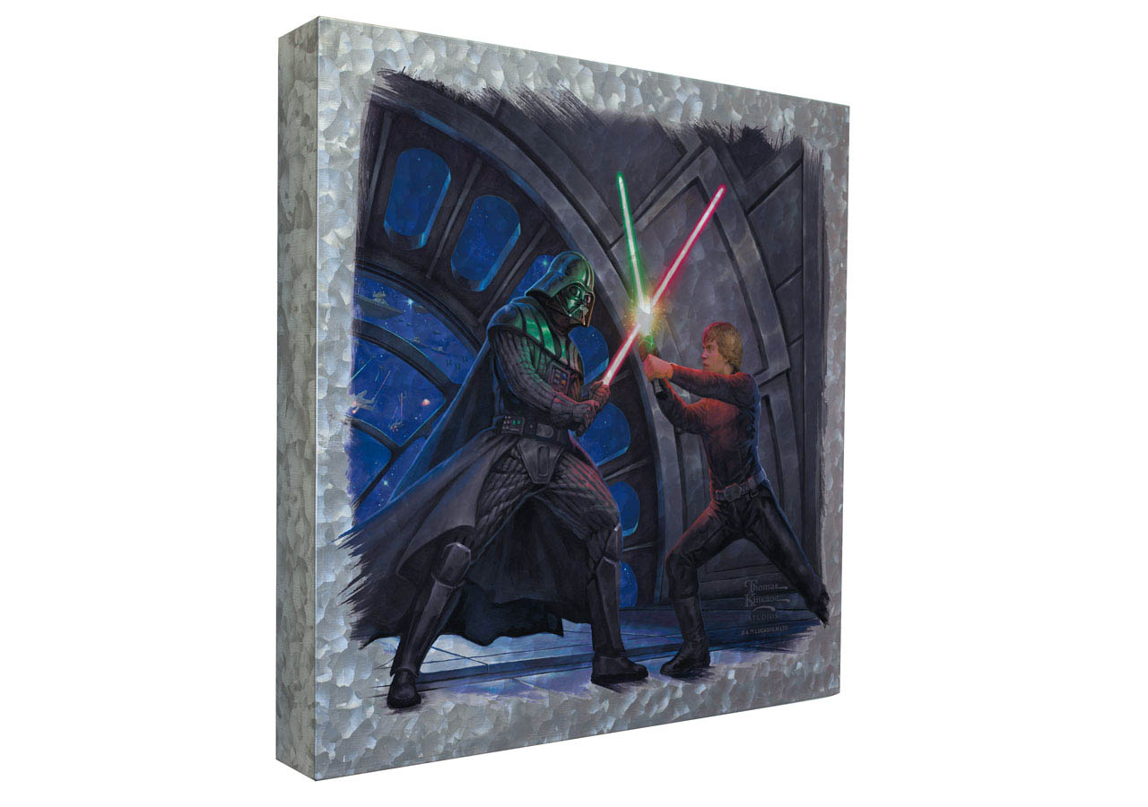 "Art Brand A Son's Destiny 14""x14"" Metal Box Art by Thomas Kinkade Studios"