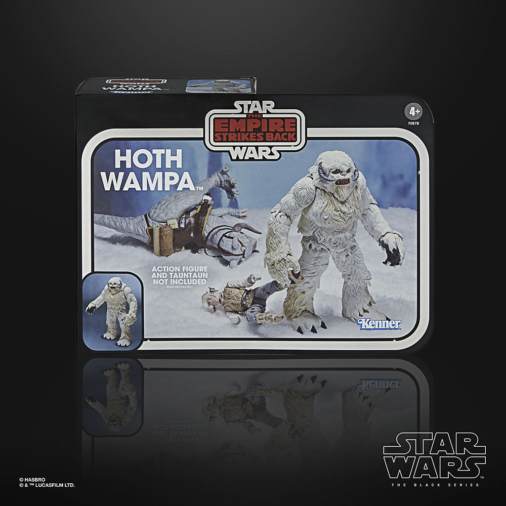 Star Wars: The Black Series 6-Inch-Scale Hoth Wampa Figure box