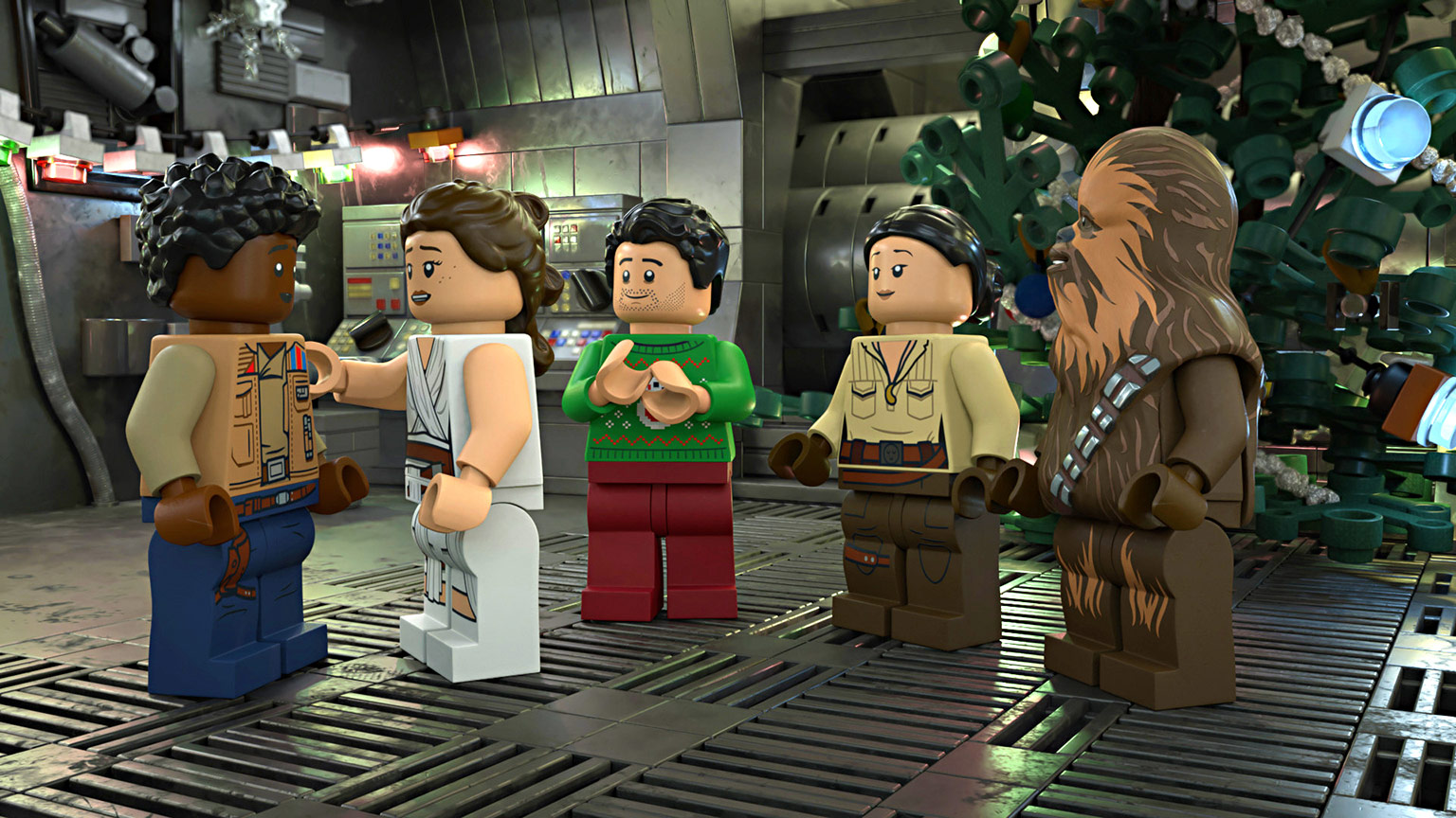 Scene for The LEGO Star Wars holiday Special