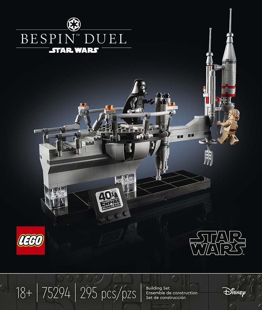 LEGO Star Wars Bespin Duel box front