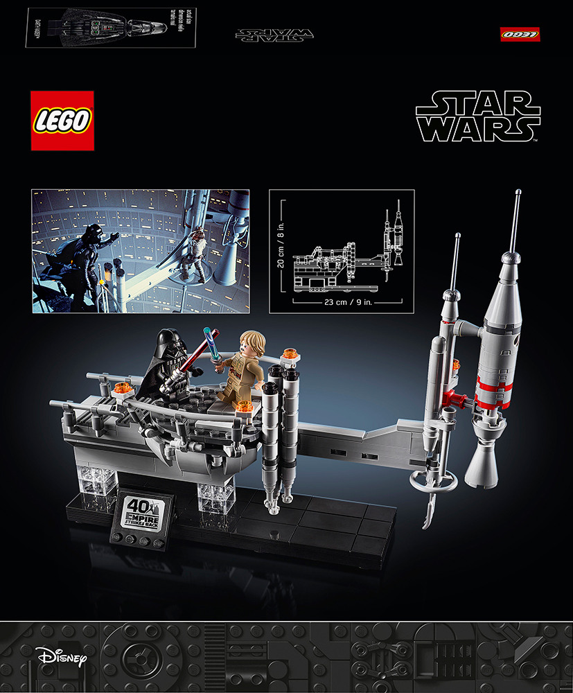 LEGO Star Wars Bespin Duel box back