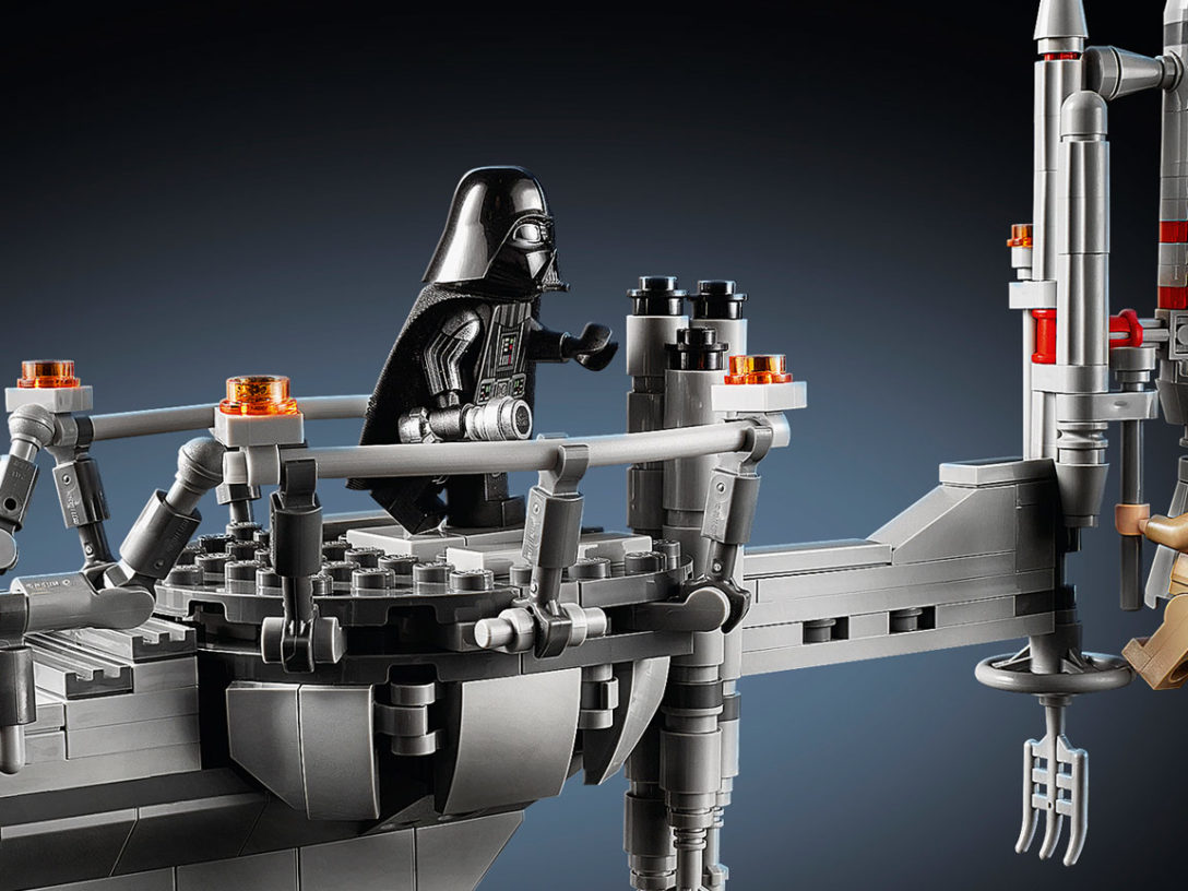 LEGO Star Wars Bespin Duel set