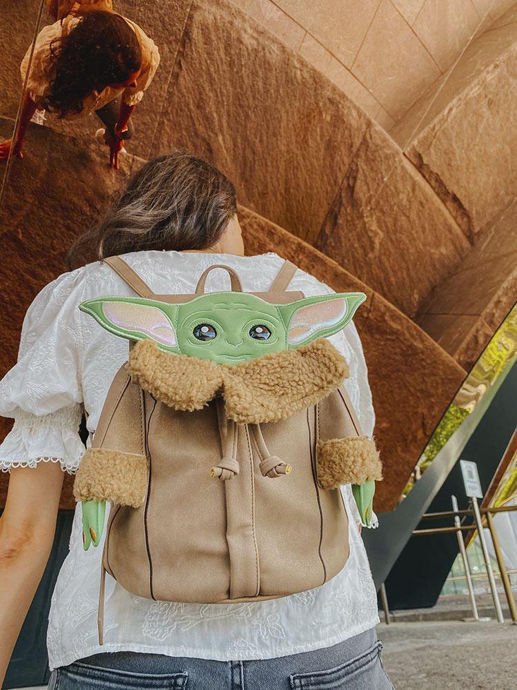 Danielle Nicole x Star Wars the Child backpack