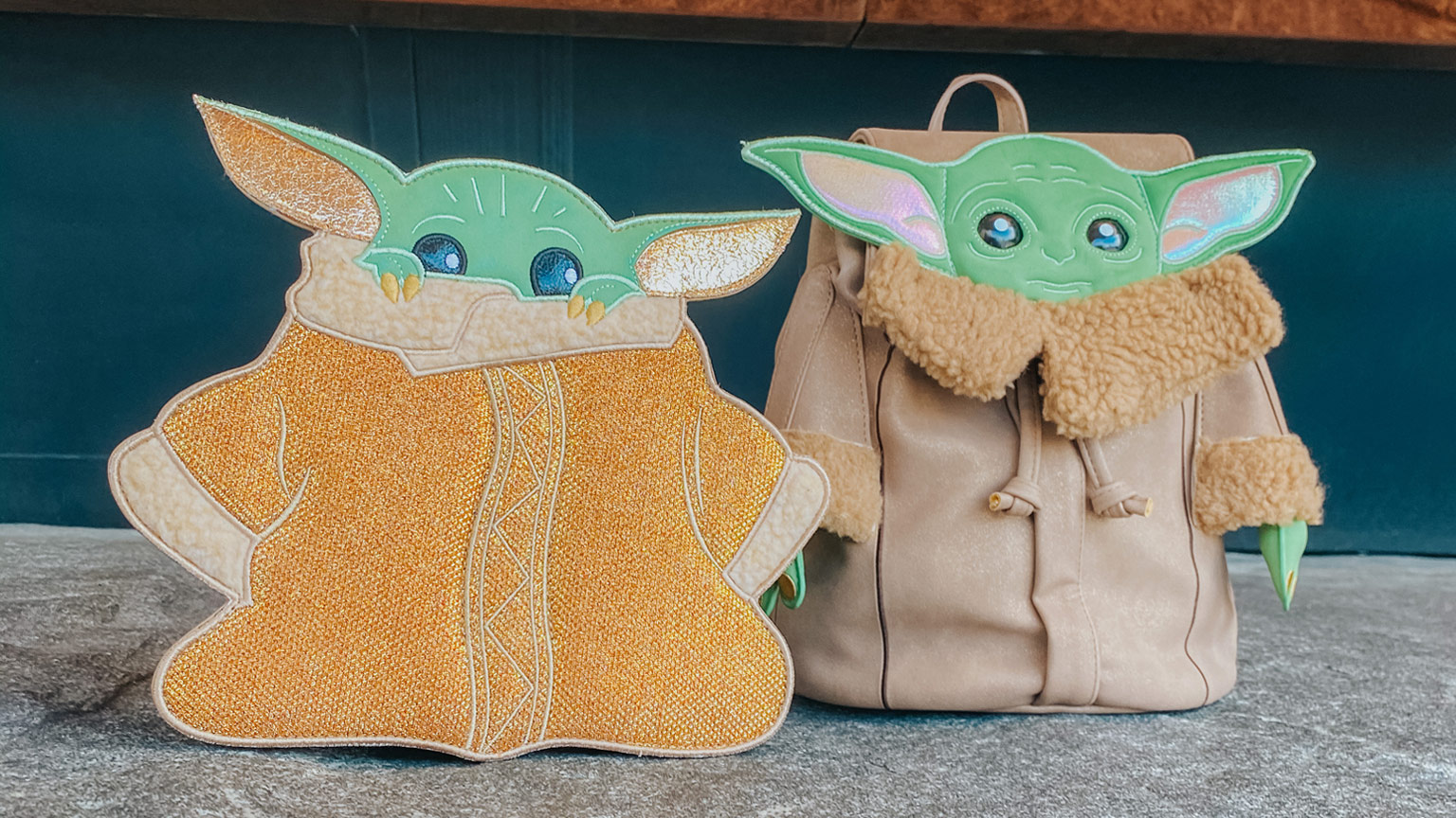 Danielle Nicole x Star Wars the Child backpack and crossbody bags