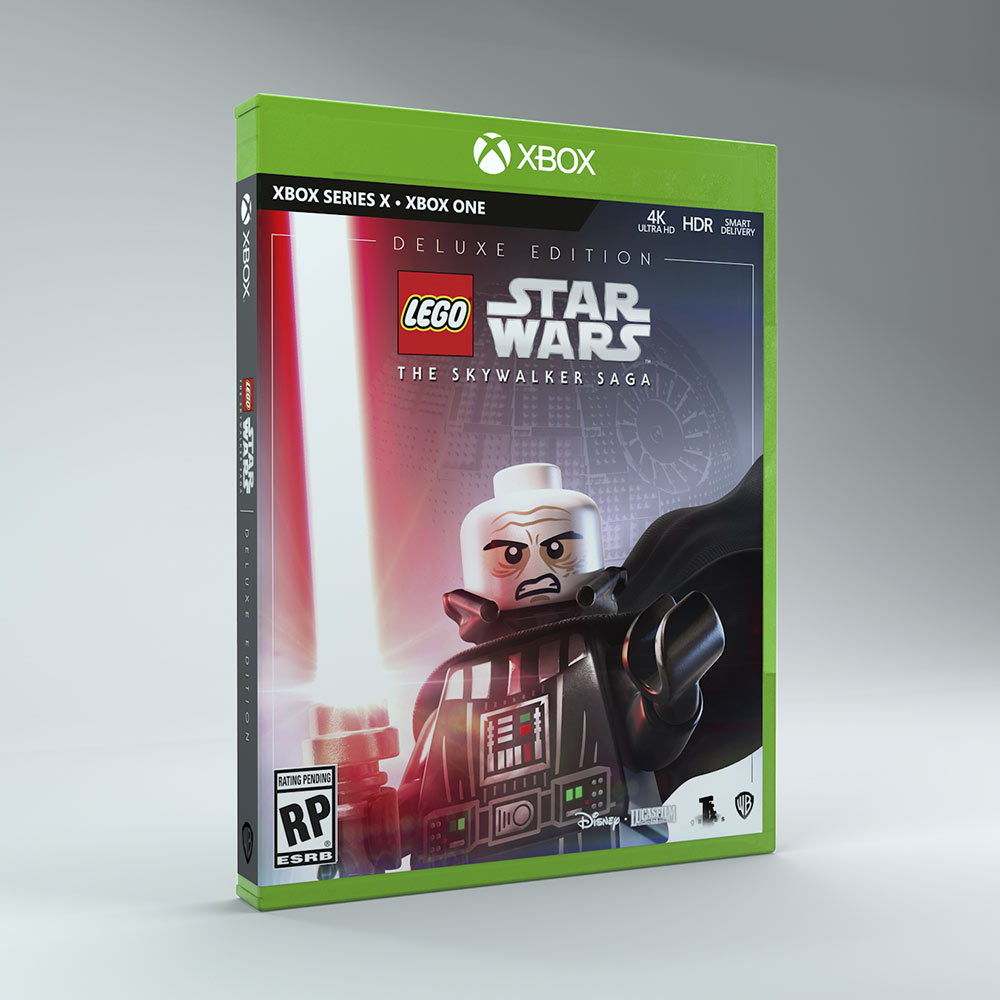 LEGO Star Wars: The Skywalker Saga Deluxe Edition Xbox box art