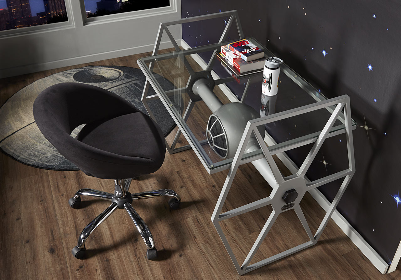 TIE Fighter Desk by Rooms to Go