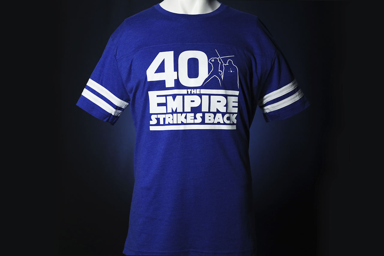 Star Wars Celebration 2020 blue shirt