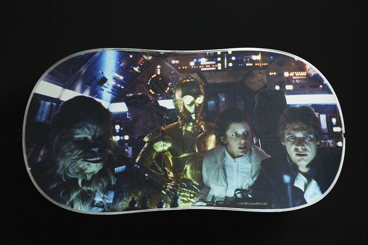 Star Wars Celebration 2020 car windshield shade