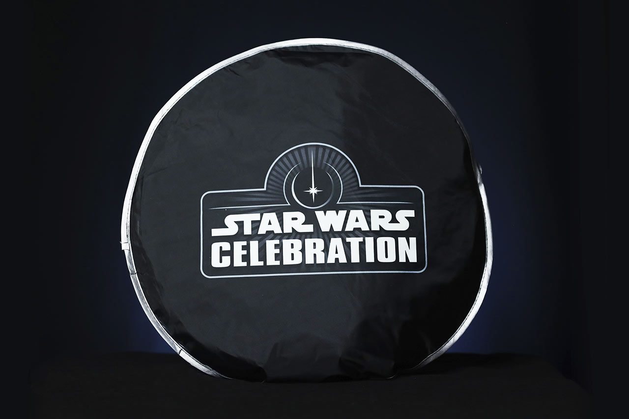 Star Wars Celebration 2020 car windshield shade bag