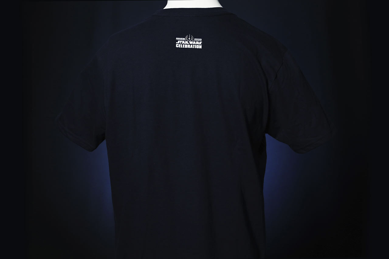 Star Wars Celebration 2020 The Empire Strikes Back black shirt back