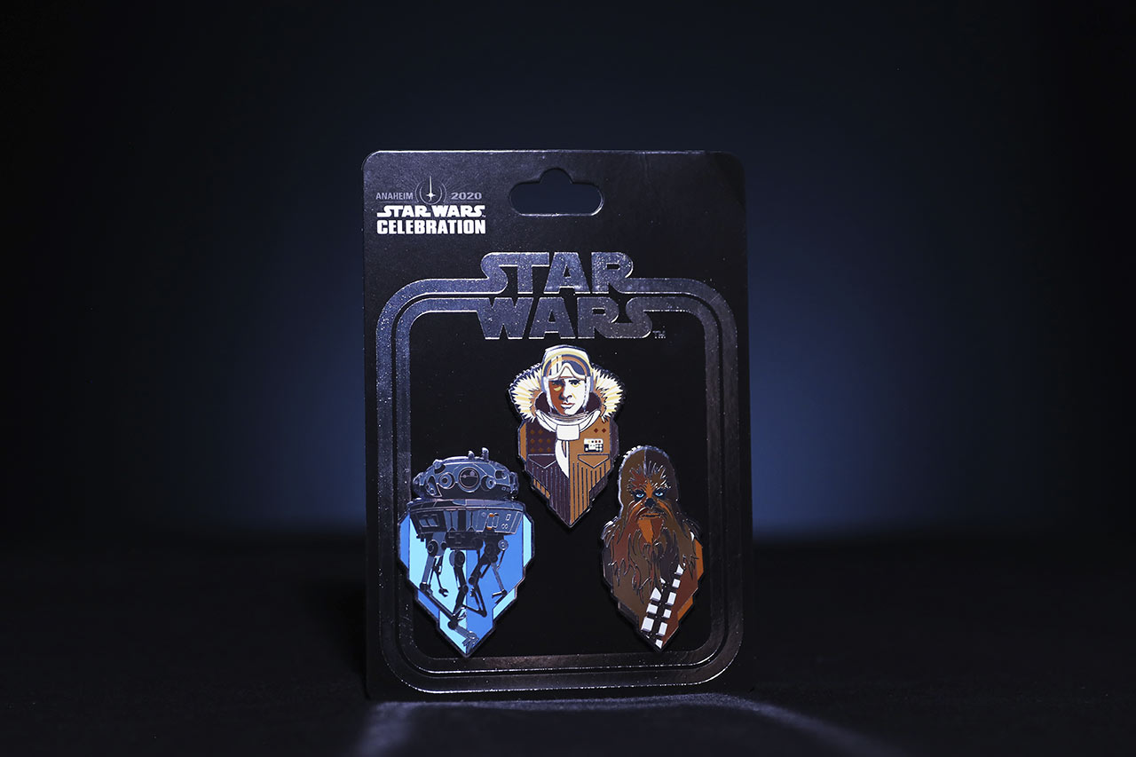 Star Wars Celebration 2020 The Empire Strikes Back pins