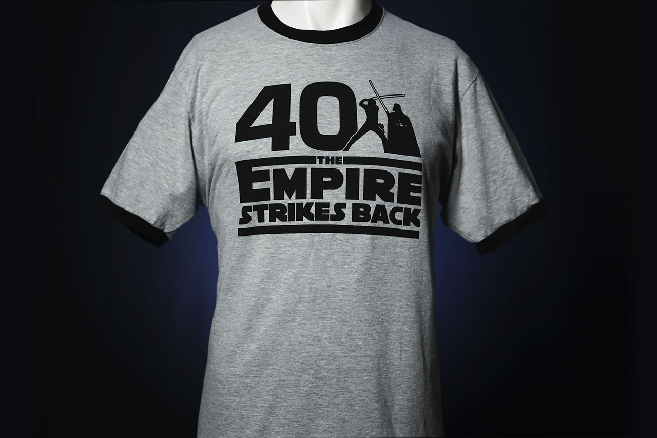 Star Wars Celebration 2020 The Empire Strikes Back gray shirt