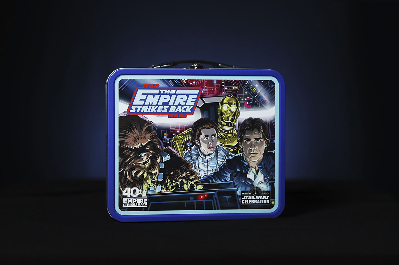 Star Wars Celebration 2020 The Empire Strikes Back lunch box