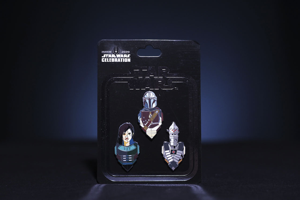 Star Wars Celebration 2020 The Empire Strikes Back The Mandalorian pins