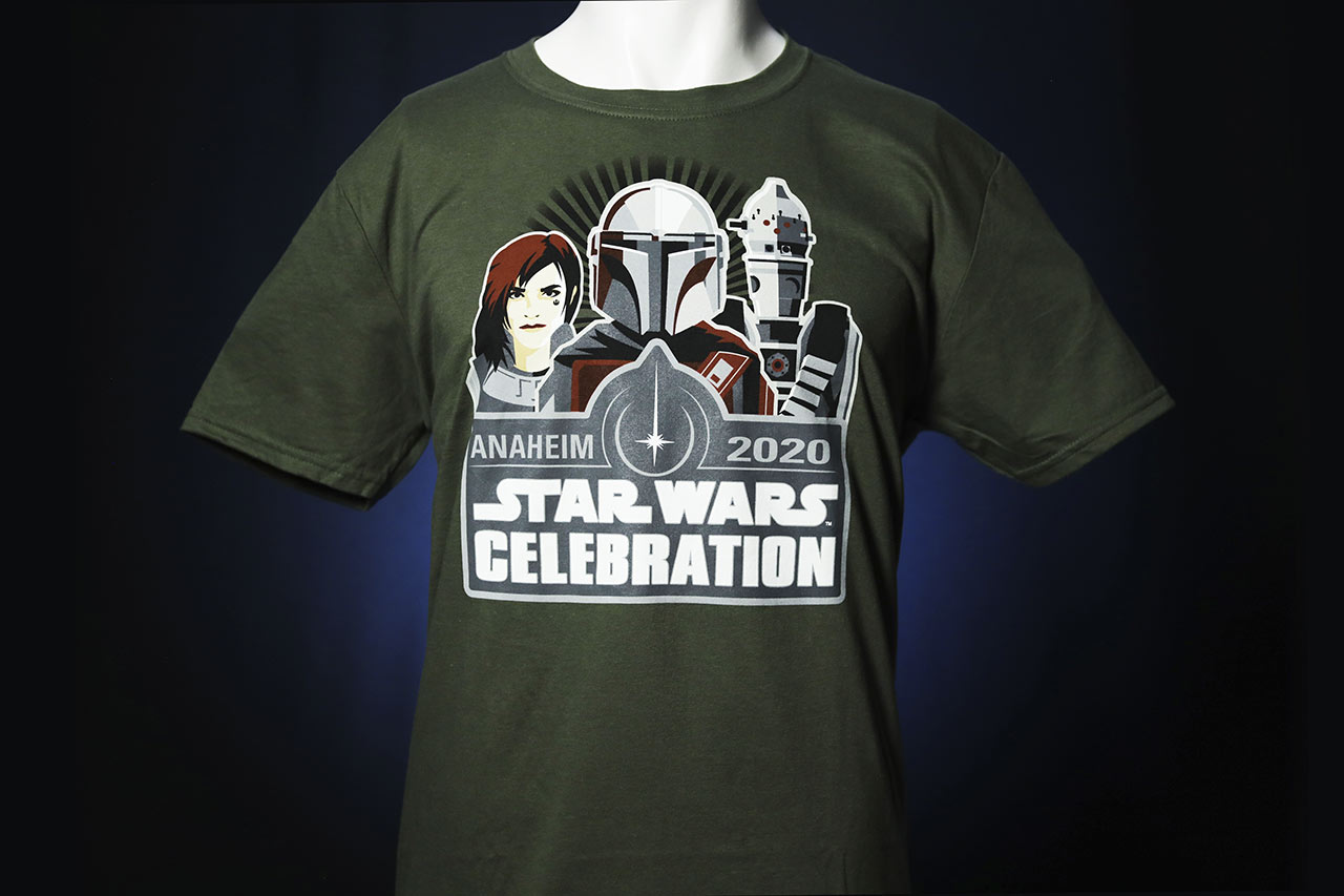 Star Wars Celebration 2020 The Empire Strikes Back The Mandalorian shirt