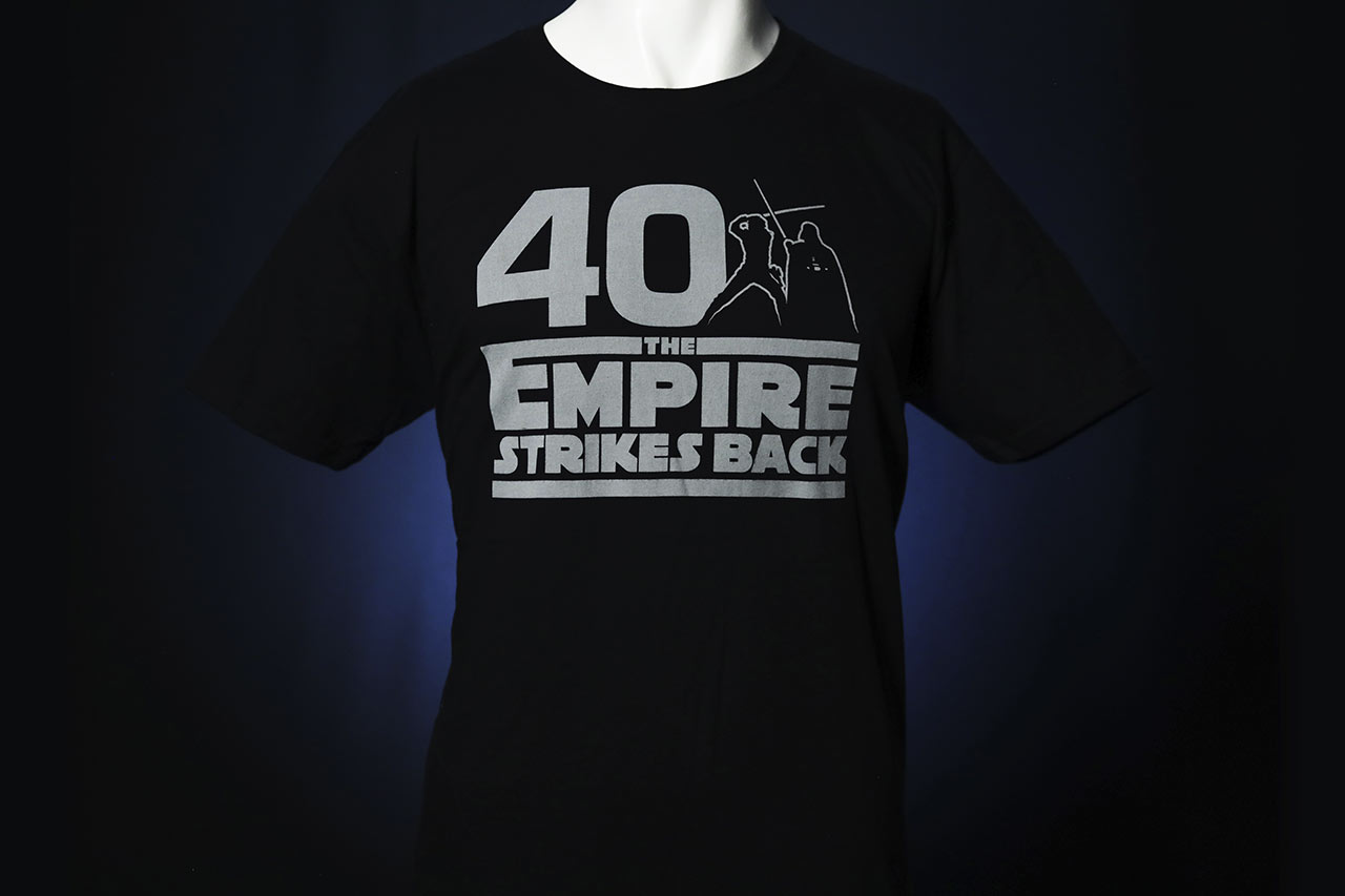 Star Wars Celebration 2020 The Empire Strikes Back black shirt