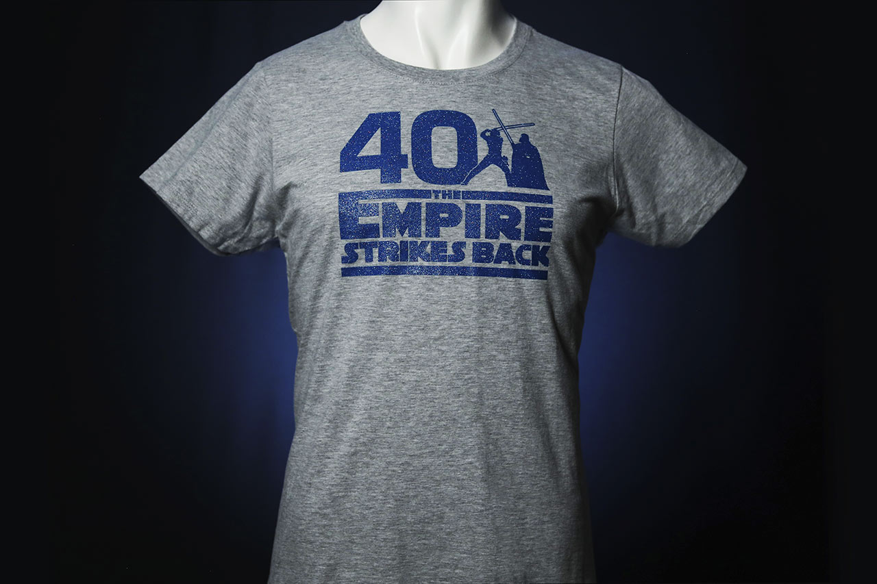 Star Wars Celebration 2020 The Empire Strikes Back sparkle shirt