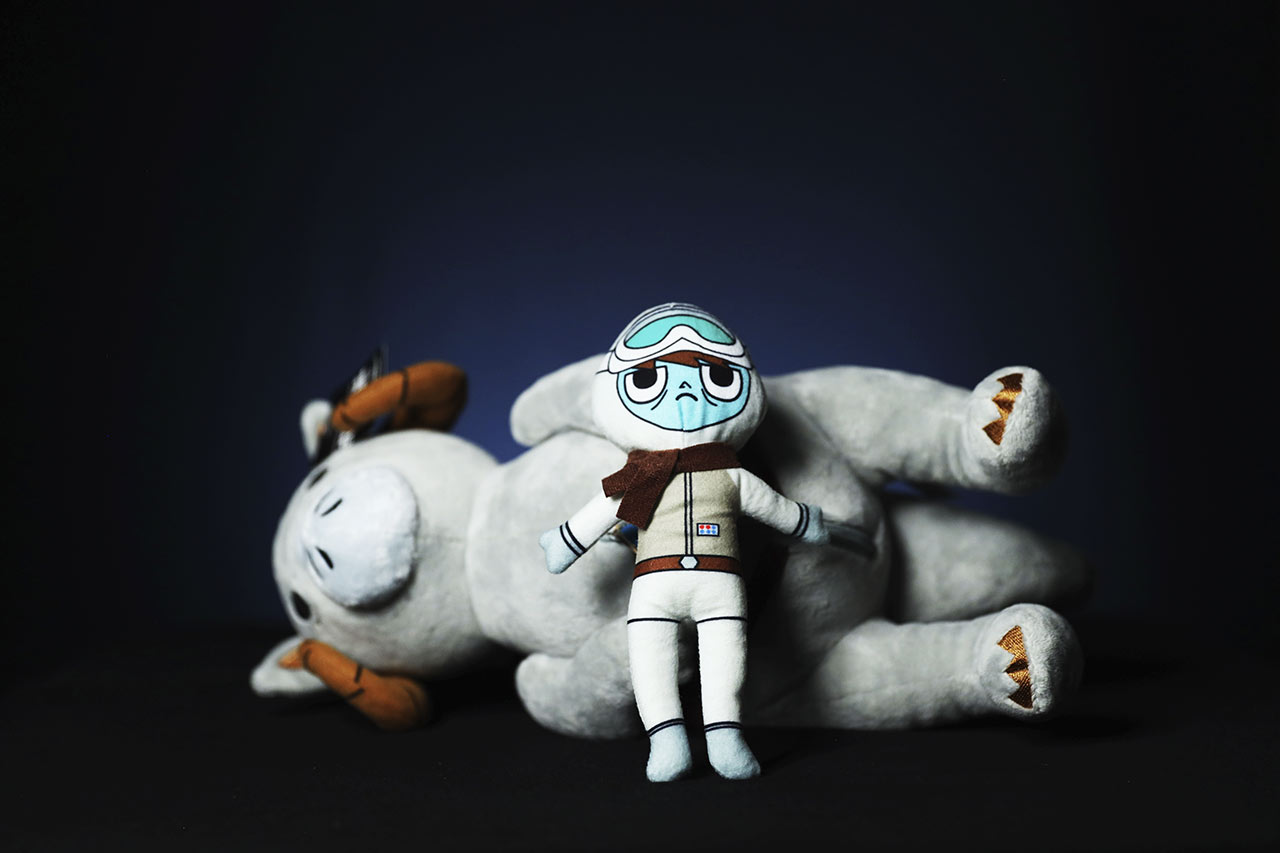 Star Wars Celebration 2020 tauntaun and Luke plush