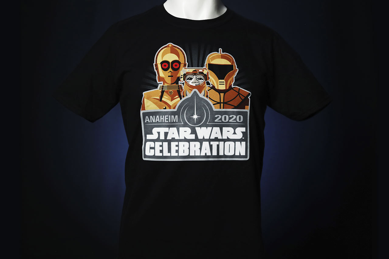 Star Wars Celebration 2020 The Rise of Skywalker shirt