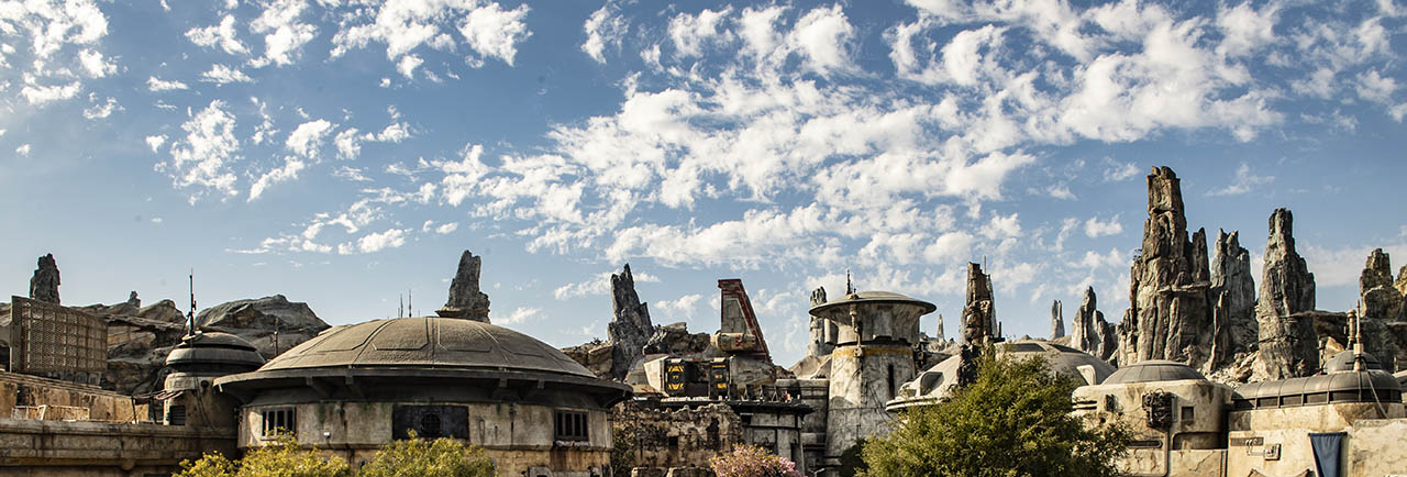 An image from Star Wars: Galaxy's Edge