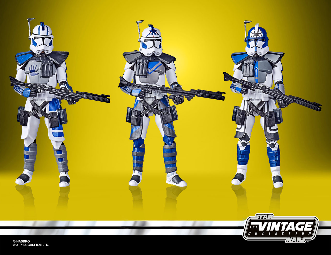 Star Wars: The Vintage Collection Star Wars: The Clone Wars 501st Legion ARC Troopers Figure 3-Pack