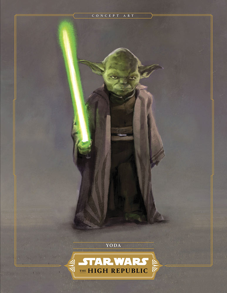Star Wars: The High Republic Yoda mission attire concept art
