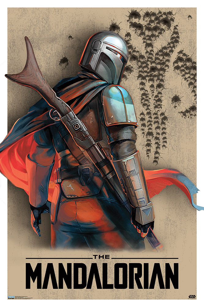 The Mandalorian Limited Edition Print, $39.99