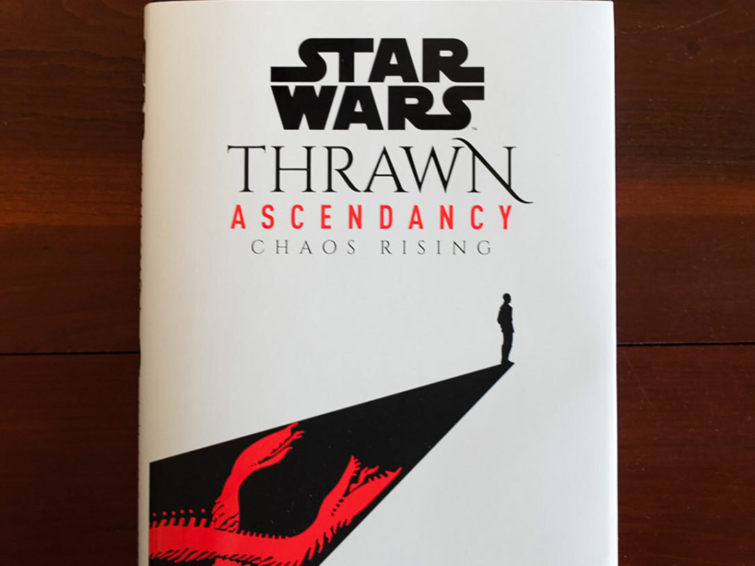 Thrawn Ascendancy - Chaos rising cover.