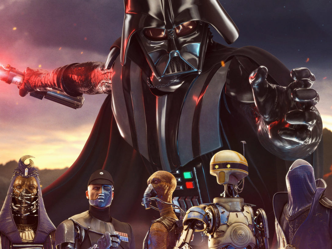 Vader Immortal: A Star Wars VR Series key art