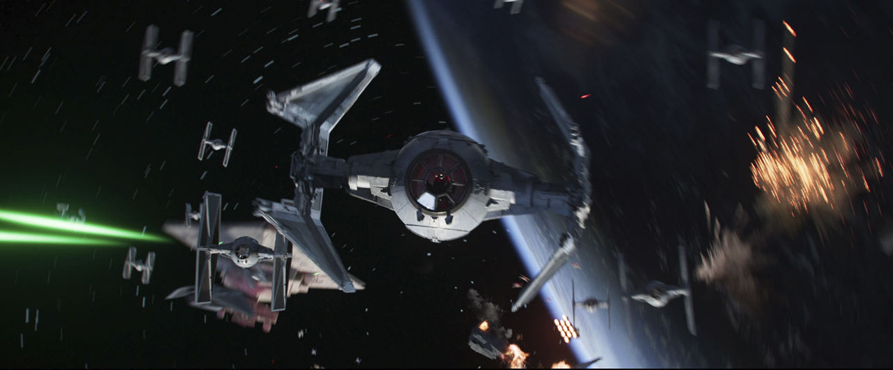 A scene from Star Wars: Squadrons CG short