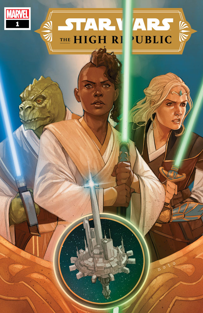 Marvel's Star Wars: The High Republic #1 cover