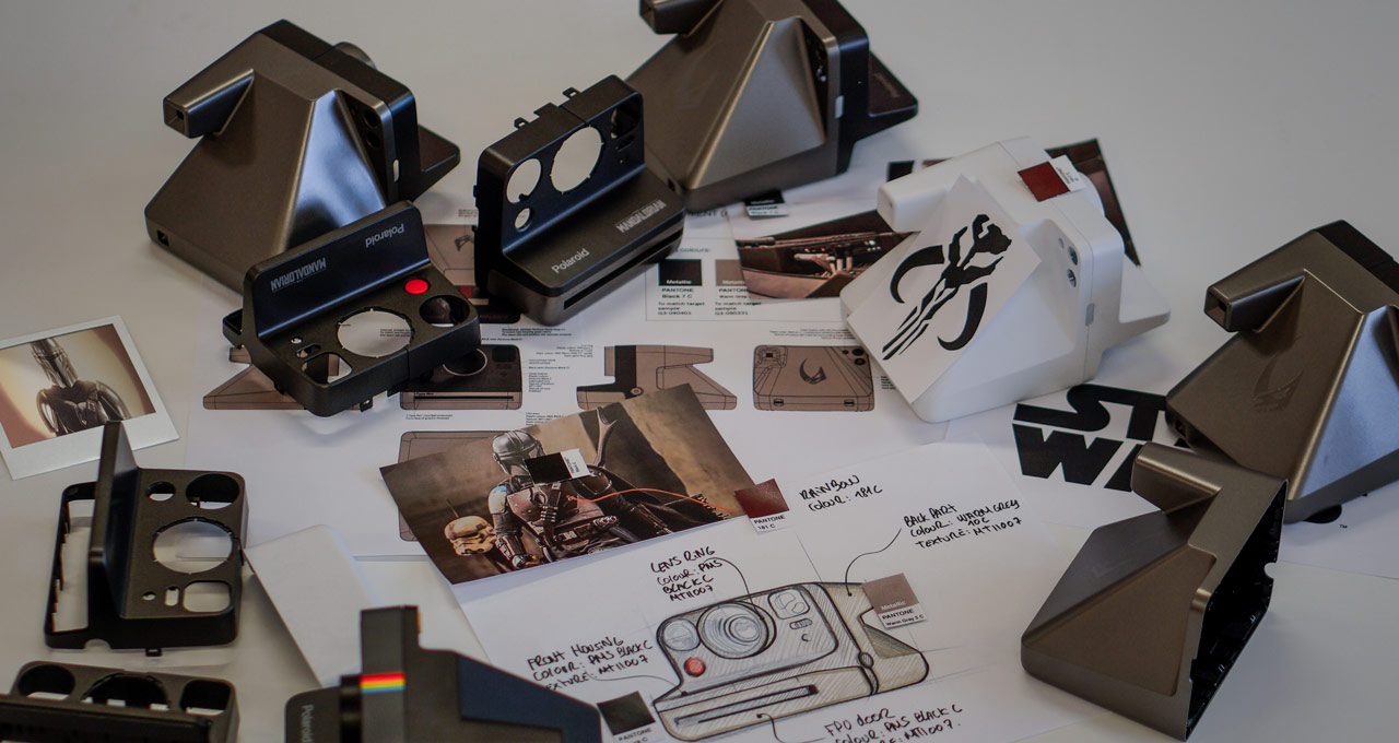 Designing The Mandalorian Polaroid camera