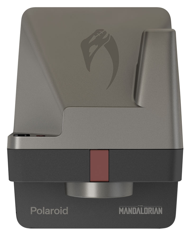 Polaroid's Mandalorian Camera top view