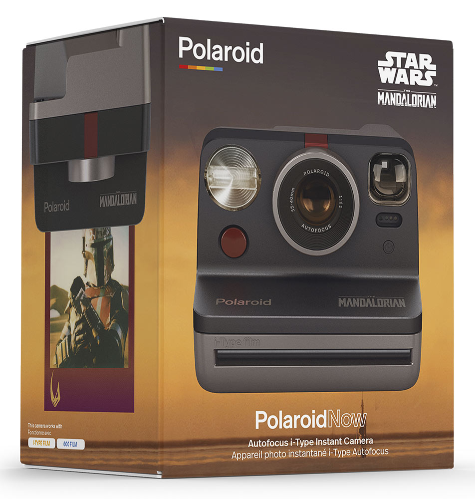 Polaroid's Mandalorian Polaroid Camera box