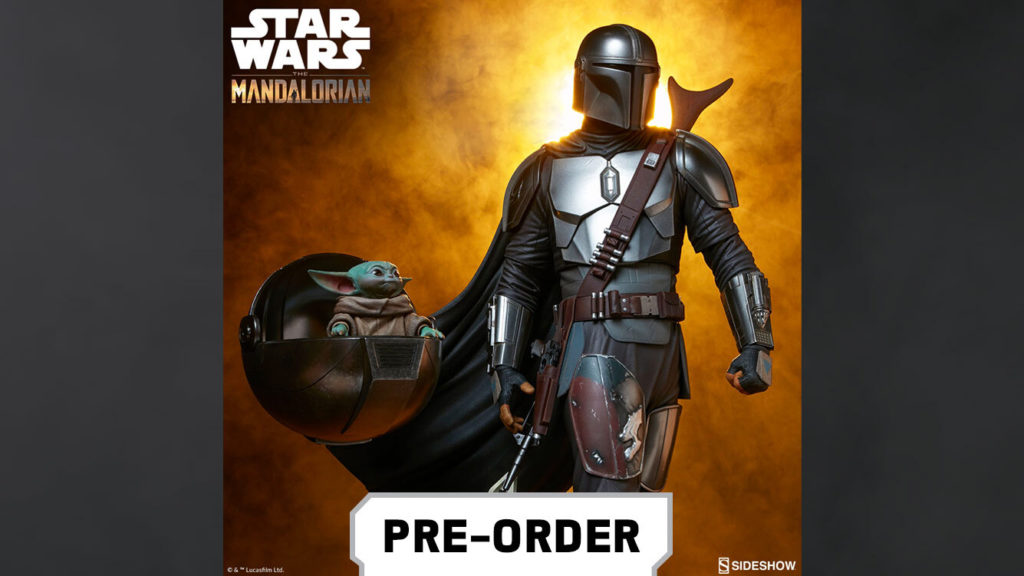 The Mandalorian from Sideshow