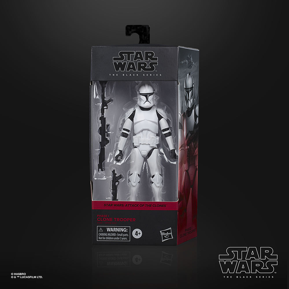 Hasbro PulseCon: Phase 1 Clone trooper trooper box