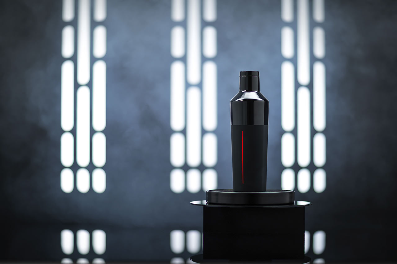 Star Wars x Corkcicle collection Darth Vader design
