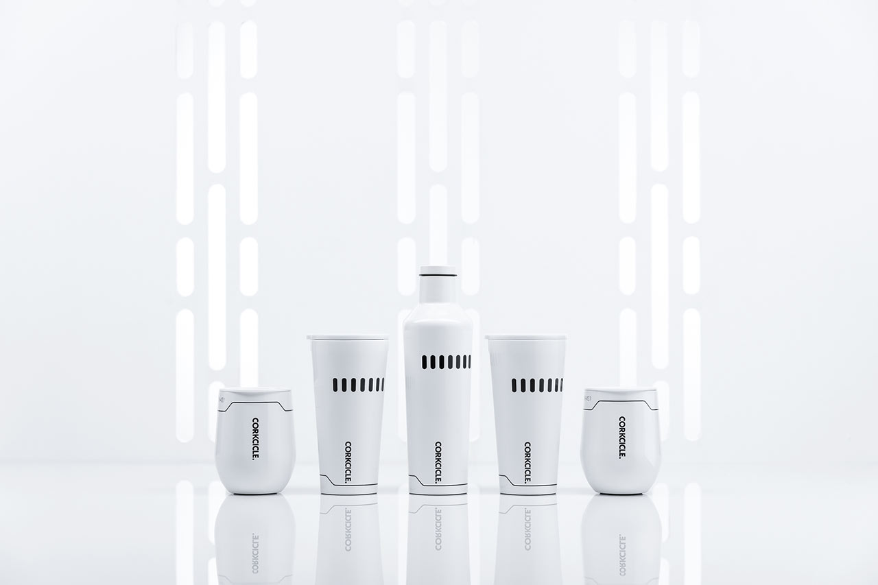 Star Wars x Corkcicle collection Stormtrooper design