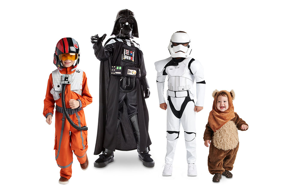 A Galaxy of Costumes for Your Star Wars Family