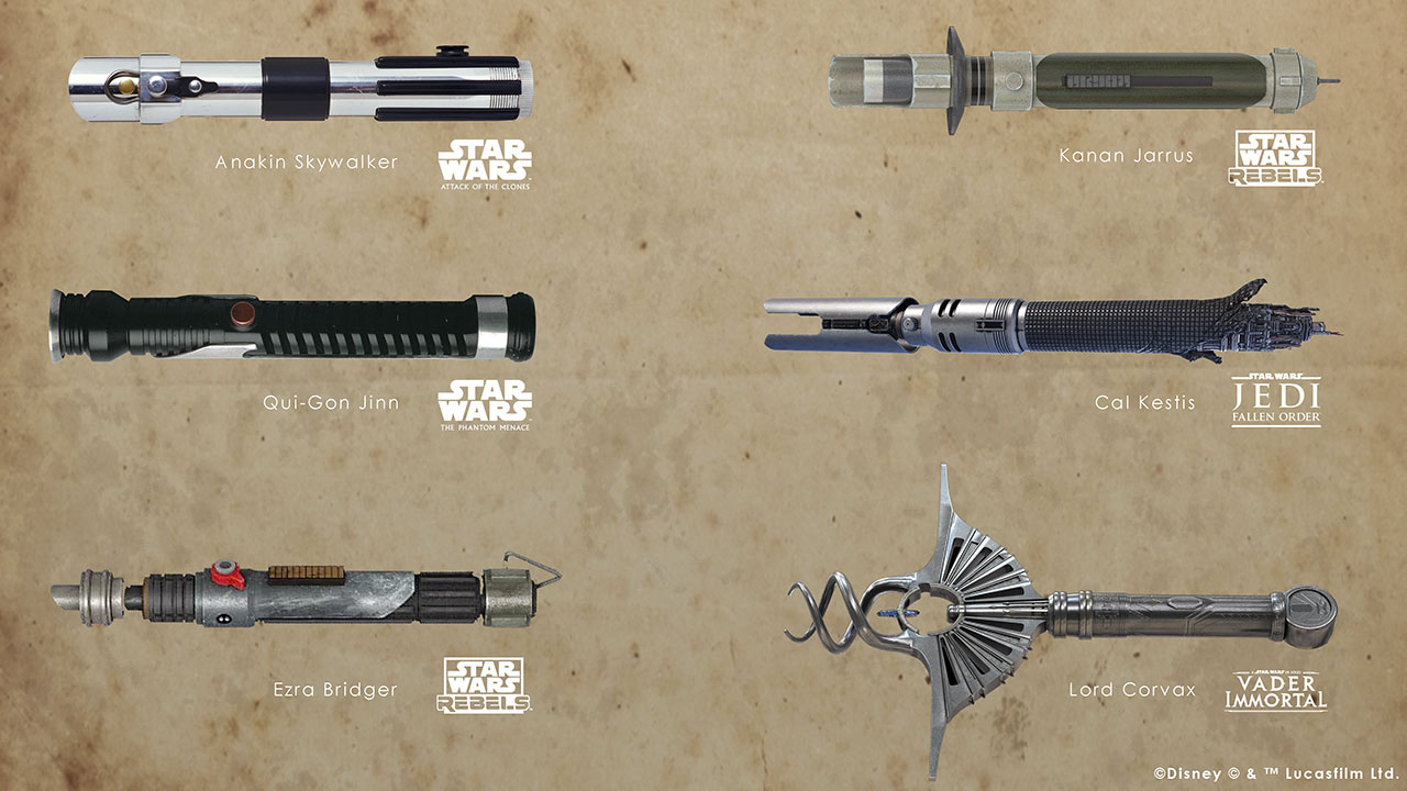 Vote options for next legacy lightsaber in Dok-Ondar's collection