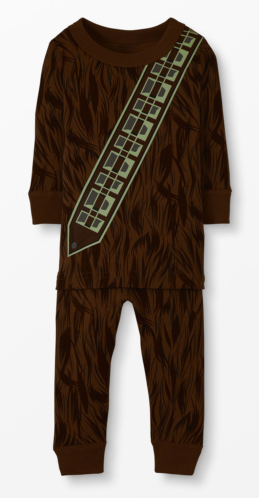 Star Wars Glow-in-the-Dark Chewbacca Pajamas by Hanna Andersson