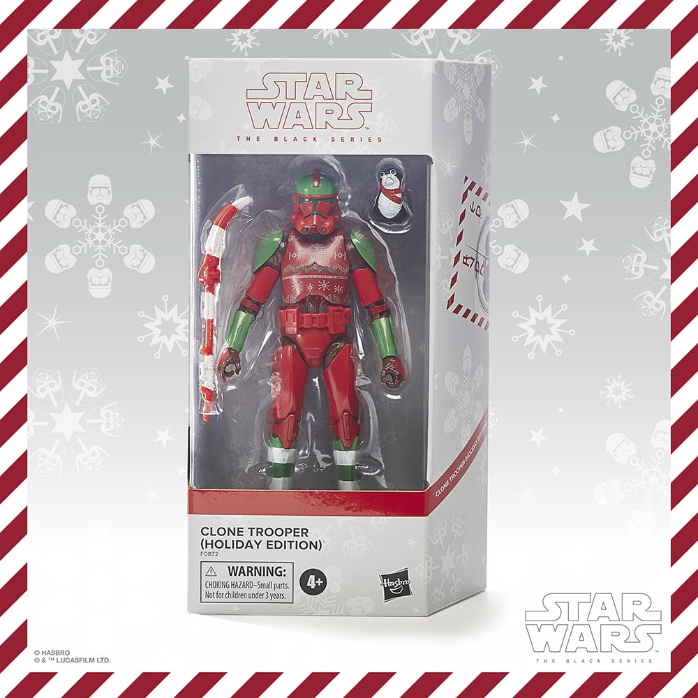 Hasbro PulseCon: holiday Clone trooper box